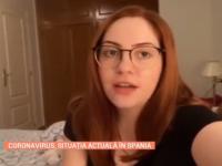 """Româncă stabilită în Spania: """"E o situație dificilă. Putem ieși doar o dată pe săptămână"""""""