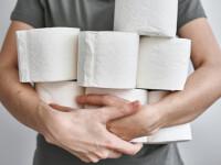Hoţii au furat 40 de suluri de hârtie igienică dintr-un castel
