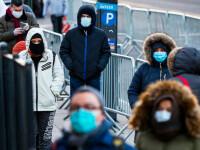Numărul cazurilor zilnice din SUA, la fel de mare ca în perioada considerată vârful pandemiei