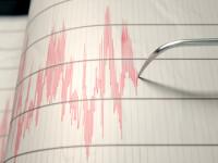Un cutremur cu magnitudinea 3,1 pe Richter s-a produs în judeţul Vrancea