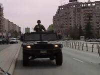 """Militarii au apărut pe străzi, în contextul epidemiei de Covid-19. Ciucă: """"Nu e cazul ca populația să se sperie"""""""