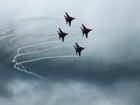 Un avion rusesc de vânătoare s-a prăbușit în Marea Neagră. Pilotul este dat dispărut