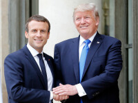 Franța și SUA anunță că vor colabora pentru o ''inițiativă majoră'' în lupta cu COVID-19