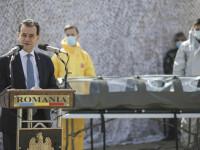 Izoleta inventată de militarii români, finalizată în timp record. Orban: Capacitatea de producţie va creşte