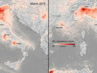 Europa, mai puțin poluată în timpul crizei de coronavirus. Unde s-au înregistrat cele mai mari diferențe