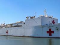 Statele Unite folosesc o navă-spital pentru a izola pacienții infectați cu coronavirus
