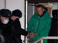 FOTO. Primele imagini cu Navalnîi după ce a fost în greva foamei. Cum arată opozantul rus