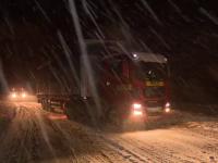 """Vremea rea le-a făcut probleme șoferilor din toată țara: """"Opresc în parcare și stau până dimineață"""""""