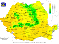 Temperaturile ajung și la 20 de grade, dar vremea se răcește în zilele următoare