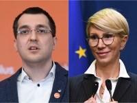 Miniștrii Vlad Voiculescu și Raluca Turcan pot fi amendați pentru că nu au purtat mască