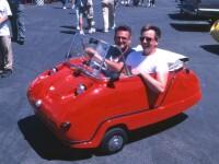 Peel Trident, cea mai mica masina din lume produsa in masa!