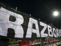 Derbiul Steaua-Dinamo - plictiseala pe teren, mare agitatie in tribune