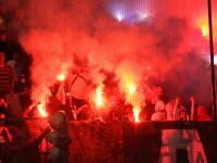 Vezi cum s-au manifestat cele doua galerii la meciul Steaua - Dinamo!