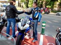 Motociclistii din Timisoara au iesit la defilare in centrul orasului!