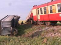 Accident teribil pe Valea Oltului! Circulatia feroviara data peste cap!