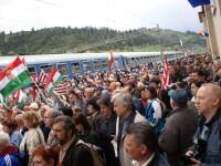 15.000 de pelerini catolici din Ungaria, la Ghimes, in judetul Bacau