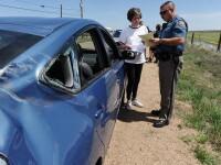 Din concediul de odihna, in medical! Cinci femei s-au rasturnat cu masina