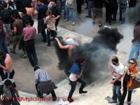 Proteste la Salonic! Grecii cer incetarea programului de austeritate