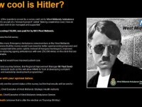 Hitler, cu ochelari de soare si freza trendy! Cat de cool este!