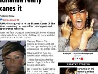 Rihanna, ce OBRAZNICA esti! Ne arati DEGETUL din MIJLOC!