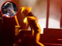 Rihanna a zdruncinat scena! A cazut in FUND dupa ce a ratat o treapta!