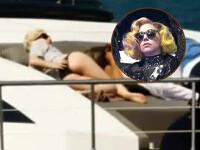 Lady GaGa, scene de dragoste pe un yaht, cu o femeie