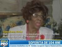 Soferita de exceptie la 104 ani