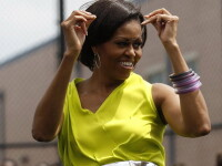 Nu vezi asa ceva des. Michelle Obama danseaza pe Beyonce. VIDEO