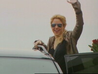 The sun comes out? Din contra. Shakira a adus ploaia la Bucuresti