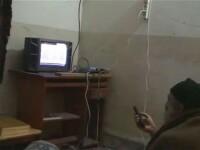 In mintea teroristului. Imagini cu bin Laden filmandu-se. VIDEO
