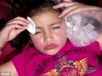Adevar sau facatura:Si-a injectat fiica cu botox sau a vrut sa apara la TV?