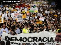 Spania, urmatoarea piesa UE care va cadea? Proteste violente in Madrid