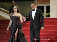 Angelina Jolie, rapitoare pe covorul rosu de la Cannes