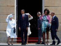 Michelle Obama, cat pe ce sa ramana in lenjerie intima in fata reginei Marii Britanii. VIDEO