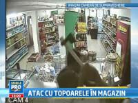 Razbunare cu topoare intr-un supermarket din Ploiesti. O familie, atacata pentru 100.000 de euro