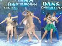 VIDEO. Lavinia, Corina sau Roxana? Cine merita titlul de cea mai sexy dansatoare in ploaie
