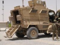 Un militar roman a fost grav ranit in Afganistan, dupa ce un dispozitiv improvizat a explodat