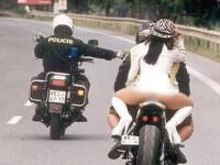 Cuplu pozat facand sex pe motocicleta, in timpul mersului. Ce s-a intamplat la cateva zile dupa aventura celor doi. FOTO