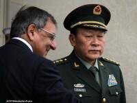 Intalnire de prietenie. Prima vizita la Pentagon a ministrului chinez al Apararii din ultimii 9 ani