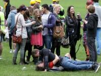Ce se intampla cand 2000 de studenti de la Cambridge se imbata.