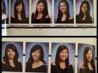 FOTO. Cea mai buna farsa din albumul de absolvire. Cum au castigat aceste fete laudele colegilor
