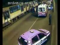 VIDEO.Momentul accidentului din Pasajul Lujerului. 15 persoane au facut plangere in cazul vatmanului