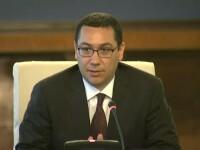 Ponta: Guvernul e obligat sa asigure conditii bune de desfasurare a unui eventual referendum
