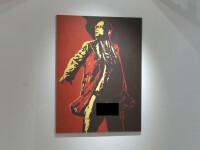 Portretul unui presedinte cu organele la vedere. Artistul a primit amenintari cu moartea. VIDEO