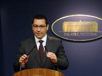 Victor Ponta: Monitorul Oficial a primit de la CC un inscris extrem de ciudat, semnat cu o bara