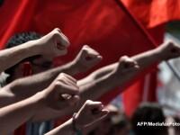 Ziua Muncii, marcata in Europa prin proteste fata de austeritate si somaj. GALERIE FOTO
