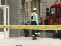 Explozie in curtea Muzeului Evreiesc. Locatarii spun ca au tot simtit miros de gaz in ultimele zile