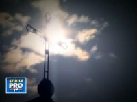 Imagini cu aprinderea Luminii Sfinte de la Ierusalim, ritualul respectat de aproape 2000 de ani