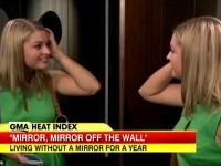Reactia unei femei anorexice care nu s-a uitat timp de un an in oglinda. Ce a vazut