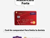 (P) MasterCard Forte de la Banca Transilvania este cardul tau de cumparaturi fara limita de dorinte